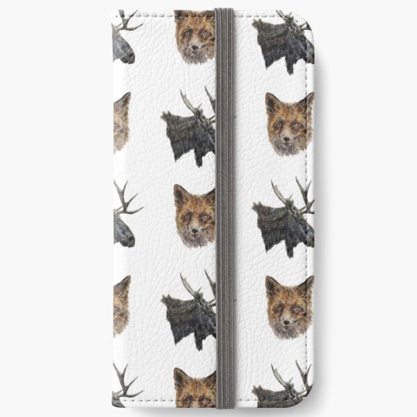 Fox and Moose iPhone Wallet