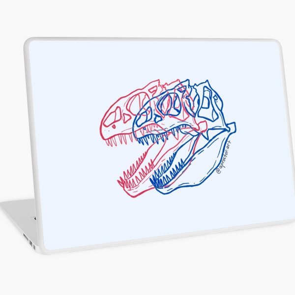 T-ReX-Ray Laptop Skin