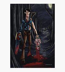 Evil Dead Ash Photographic Print