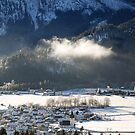 Bad Oberdorf, Winter by Erwin G. Kotzab