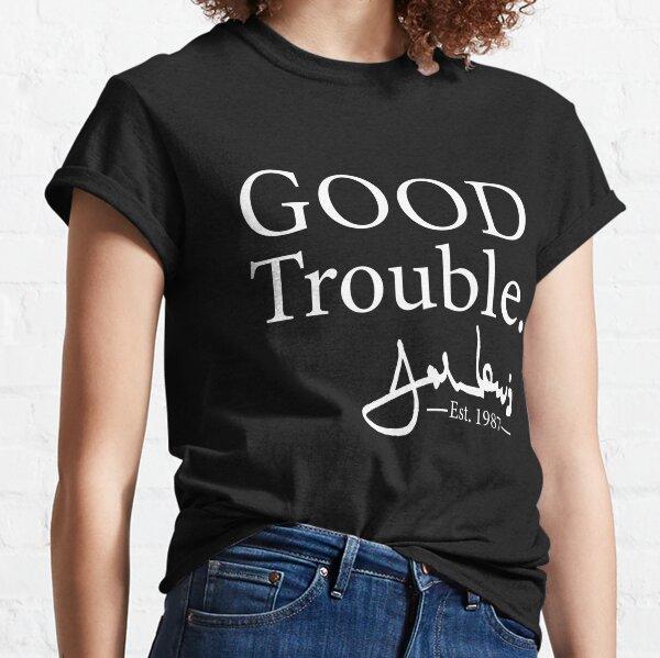 Good Trouble John Lewis Signature, est 1987 T-Shirt Classic T-Shirt