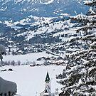 Bad Hindelang, Winter by Erwin G. Kotzab