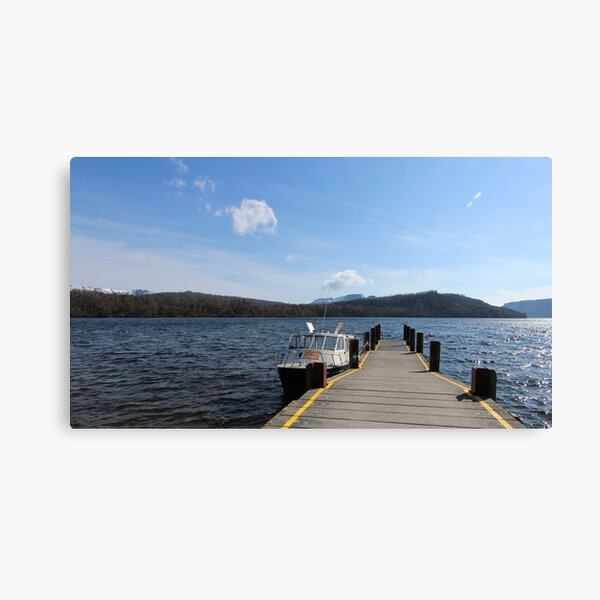 1st spring day at Lake St Clair  Canvas Print