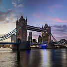 Tower Bridge Sunset - London, UK by Mattia  Bicchi Photography