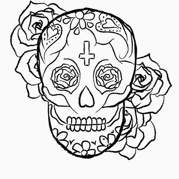 Sugar Skull by elainejoven