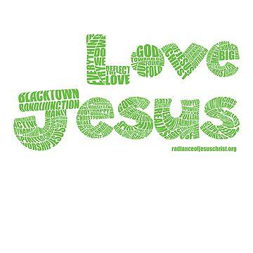 Four Fold Mission - Love Jesus by RadianceJC