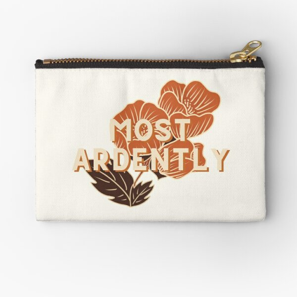Most Ardently // Pride and Prejudice Zipper Pouch