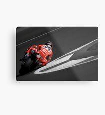 MOTO GP Silverstone 2013 - Dovizioso Metal Print