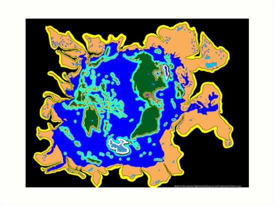 World Watersheds by David Fraser