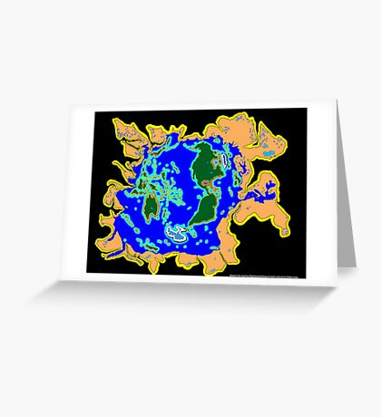 World Watersheds Greeting Card