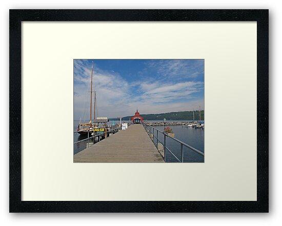 Seneca Harbor Pier by Jack Ryan