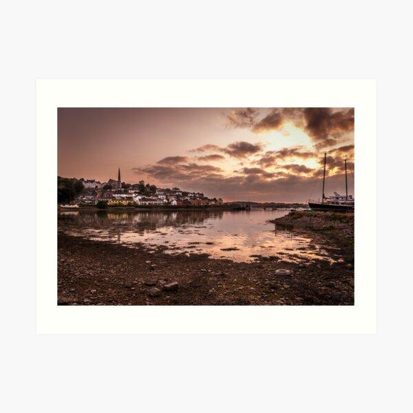 Crosshaven Evening in Co Cork Art Print