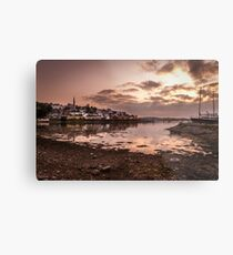 Crosshaven Evening in Co Cork Metal Print