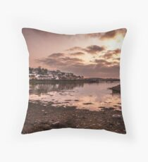 Crosshaven Evening in Co Cork Throw Pillow