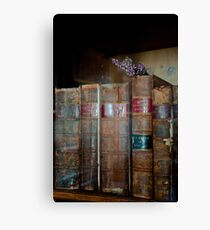 Lavender & Law Canvas Print