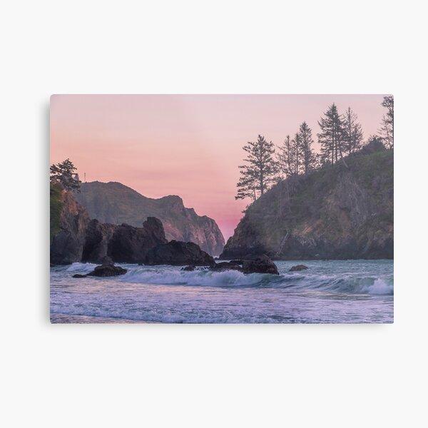 Sunset at College Cove Metal Print