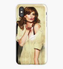 Stana Katic iPhone Case/Skin