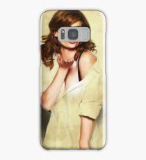 Stana Katic Samsung Galaxy Case/Skin