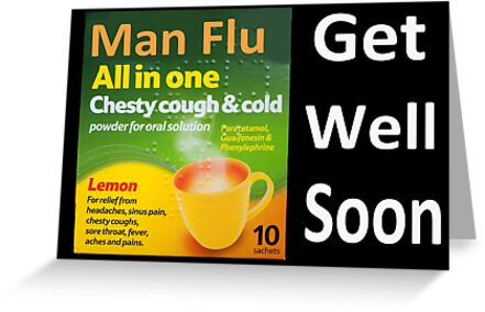 Man Flu sympathy  by Rob Hawkins