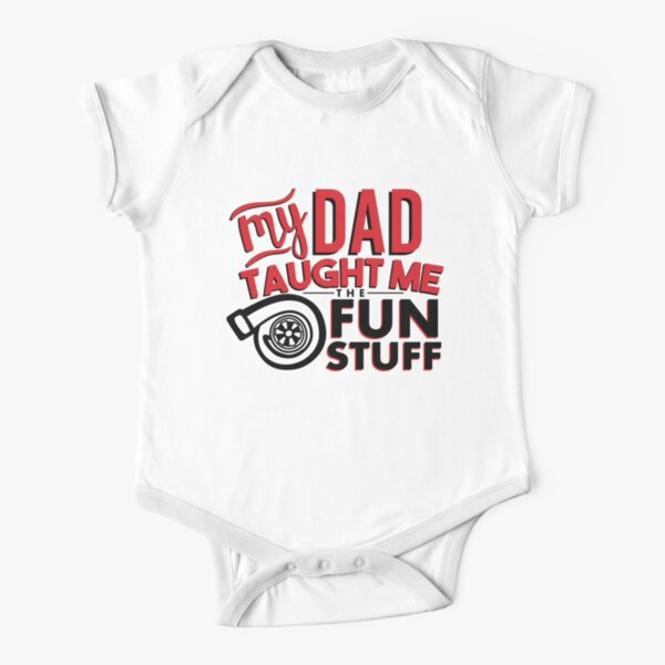 My Daddy Drives A BMW Girls Gift Present Long Sleeve Baby Vests for Boys