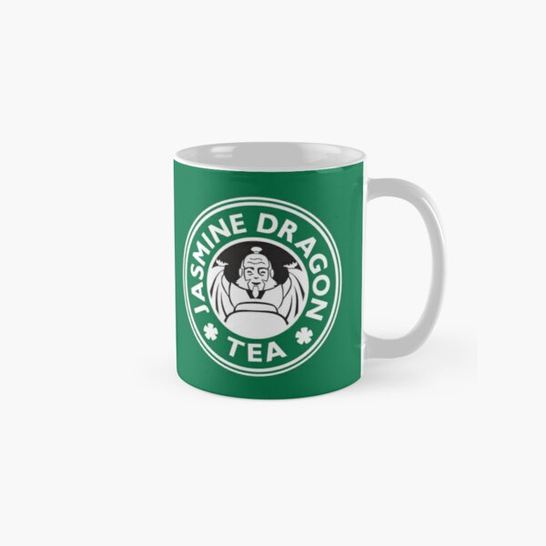 Jasmine Dragon, Uncle Iroh, Avatar-Inspired Design (Green Version) Classic Mug