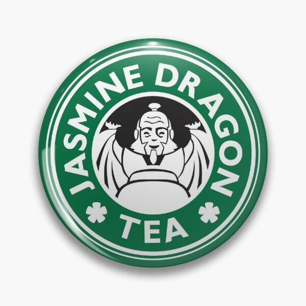 Jasmine Dragon, Uncle Iroh's Tea Shop: Avatar Starbucks Parody (Green) Pin