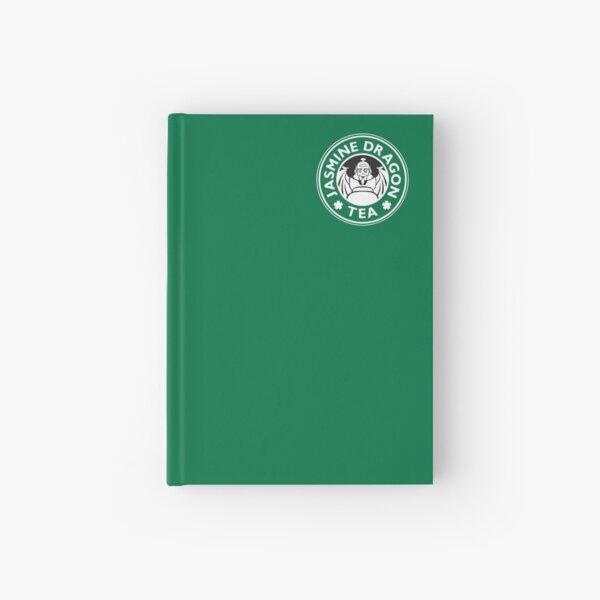 Jasmine Dragon, Uncle Iroh's Tea Shop: Avatar Starbucks Parody (Green) Hardcover Journal