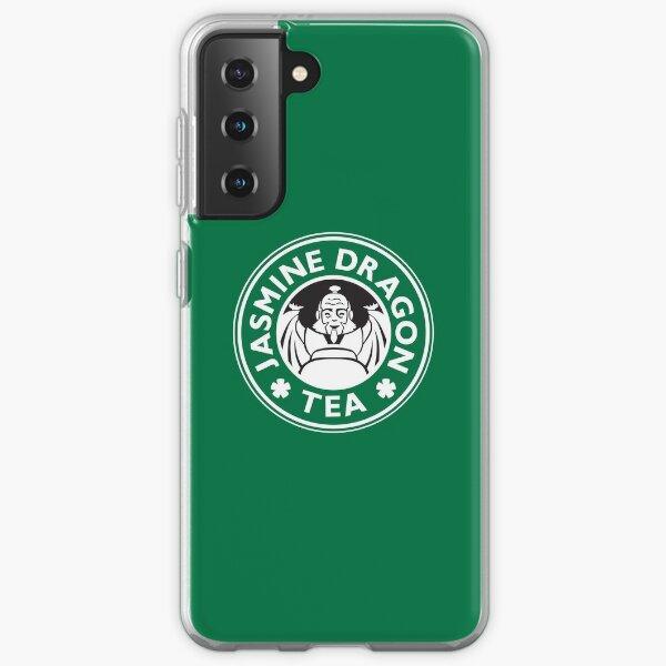 Jasmine Dragon, Uncle Iroh's Tea Shop: Avatar Starbucks Parody (Green) Samsung Galaxy Soft Case
