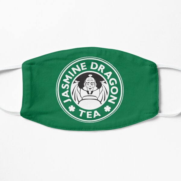 Jasmine Dragon, Uncle Iroh, Avatar-Inspired Design (Green Version) Mask