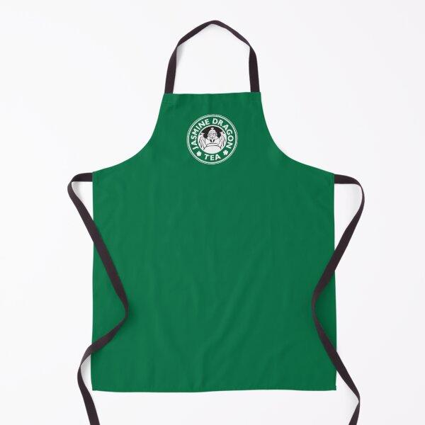 Jasmine Dragon, Uncle Iroh's Tea Shop: Avatar Starbucks Parody (Green) Apron