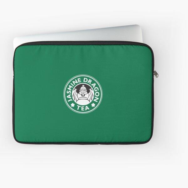 Jasmine Dragon, Uncle Iroh's Tea Shop: Avatar Starbucks Parody (Green) Laptop Sleeve