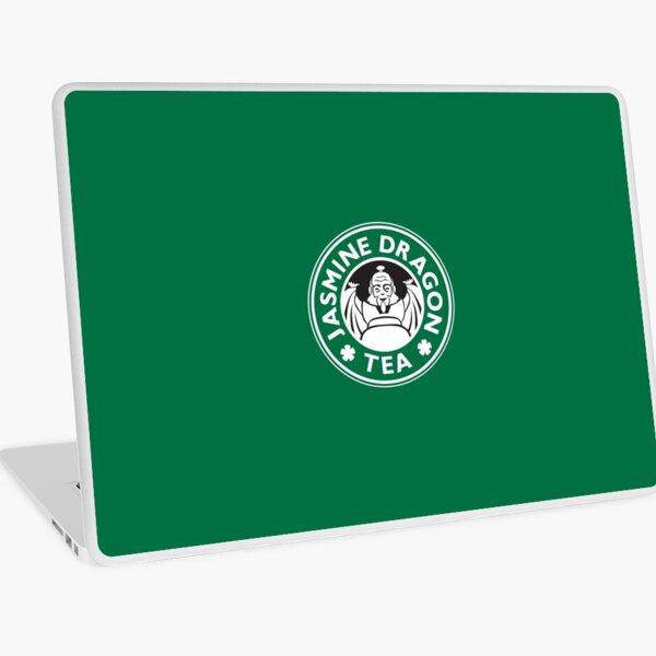 Jasmine Dragon, Uncle Iroh's Tea Shop: Avatar Starbucks Parody (Green) Laptop Skin