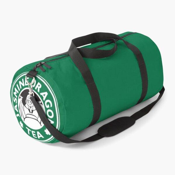 Jasmine Dragon, Uncle Iroh's Tea Shop: Avatar Starbucks Parody (Green) Duffle Bag