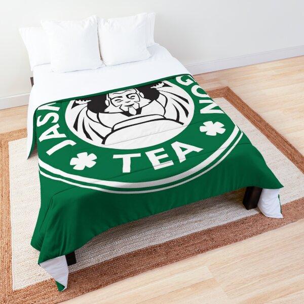 Jasmine Dragon, Uncle Iroh's Tea Shop: Avatar Starbucks Parody (Green) Comforter