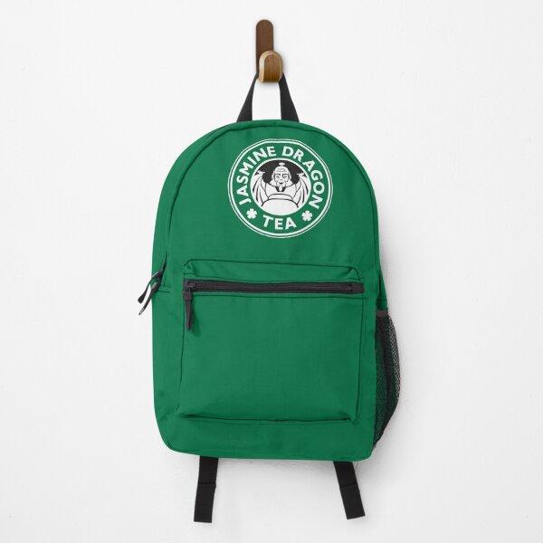 Jasmine Dragon, Uncle Iroh's Tea Shop: Avatar Starbucks Parody (Green) Backpack