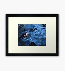Negative Tide Framed Print