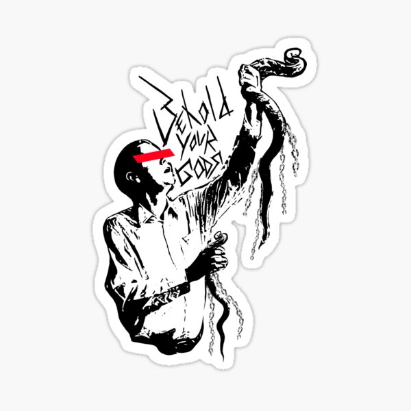 Preacher Man Sticker