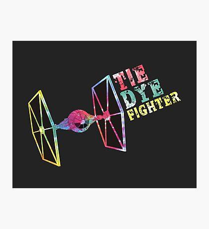 Tie Dye Fighter Photographic Print