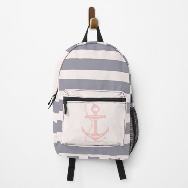 AFE Pink Nautical Anchor  Backpack