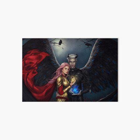 Haven Ashwood and Stolas Darkshade Art Board Print
