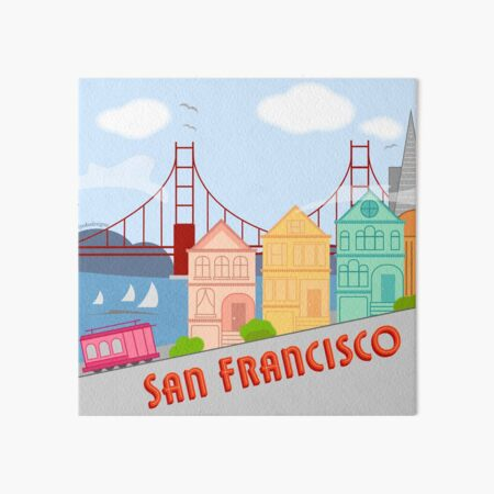 San Francisco  Art Board Print