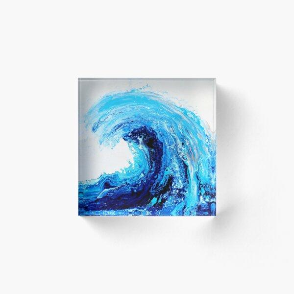 Wave Acrylic Block
