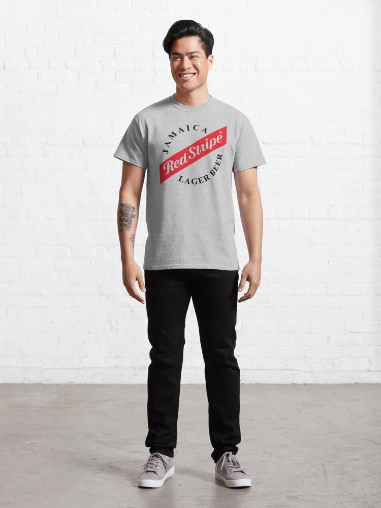 Alternative Ansicht von Jamaica Red Stripe Classic T-Shirt