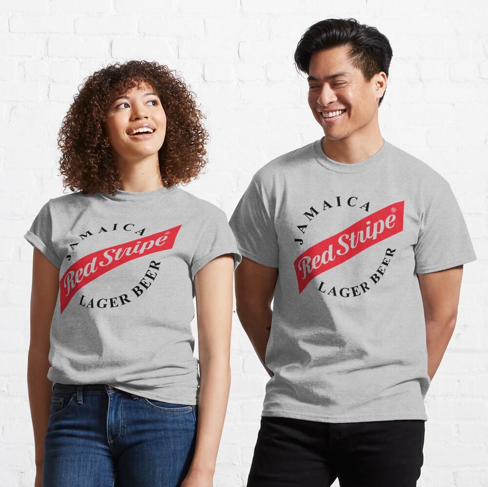 Jamaica Red Stripe Classic T-Shirt