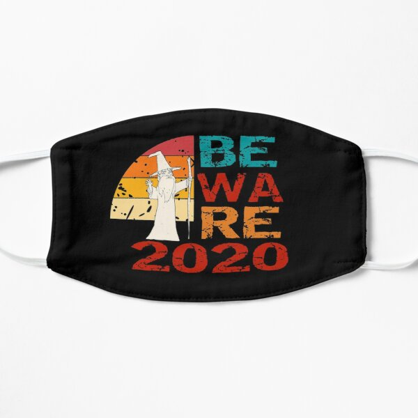 Beware 2020 - Funny Vintage Retro Wizard Mask