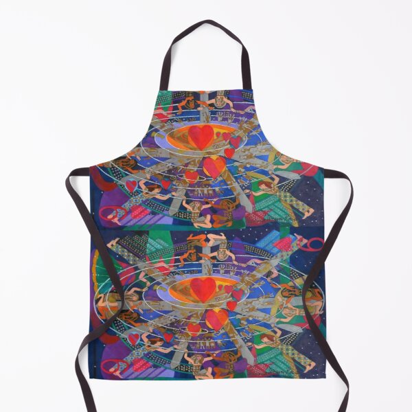 Nine Lives of the Heart Apron
