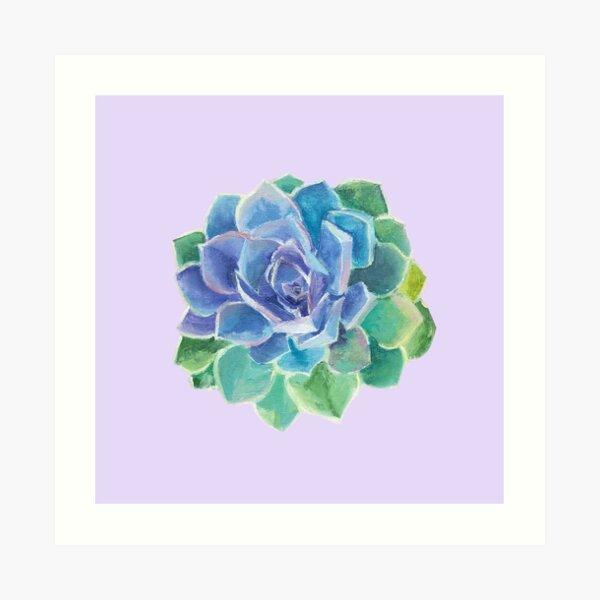 Succulent (Gemstone) Art Print