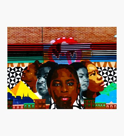 Harlem Street Art Photographic Print