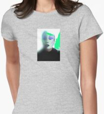 GOOGLE GOTH Womens Fitted T-Shirt