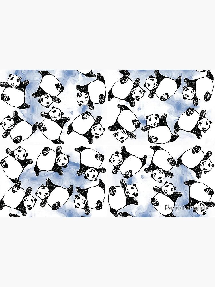 Tumbling Baby Pandas by PandaChronicle